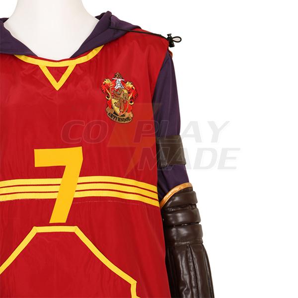 Harry Potter Quidditch Robe Gryffindor Hermione Jean Granger Costume