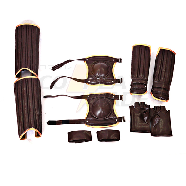 Harry Potter Movies Leg & Arm Guard Gloves Cosplay Quidditch Costume