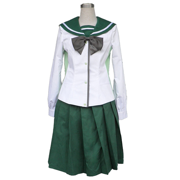 Disfraces Highschool of the Dead Cosplay Fujimi Academy uniforme de niñas de la escuela Cosplay
