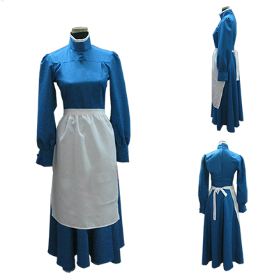 Howl's Moving Castle Sophie Dress Cosplay Costume Halloween