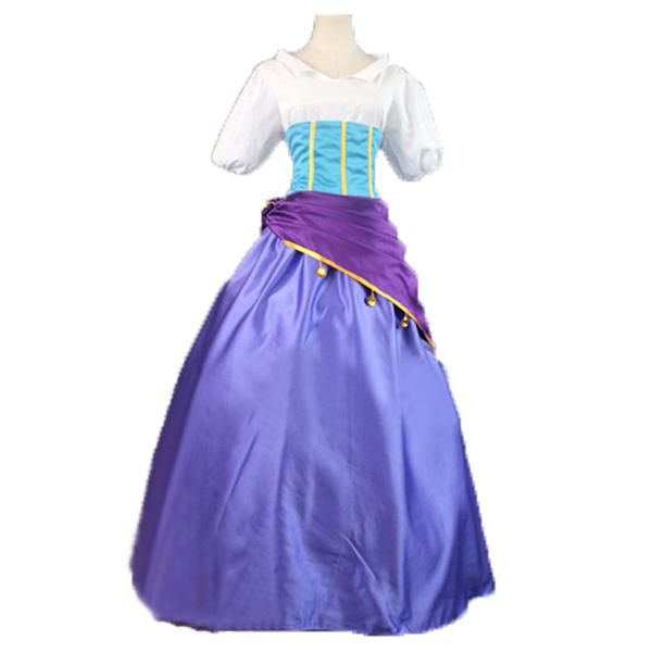 Hunchback of Notre Dame Esmeralda Cosplay Kostuum