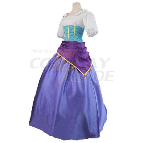 Hunchback of Notre Dame Esmeralda Cosplay Costume