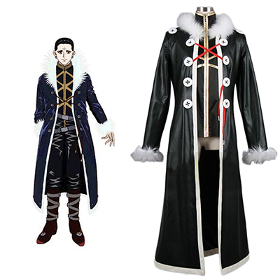 Hunter X Hunter Chrollo Lucilfer Cosplay Kostym Karneval