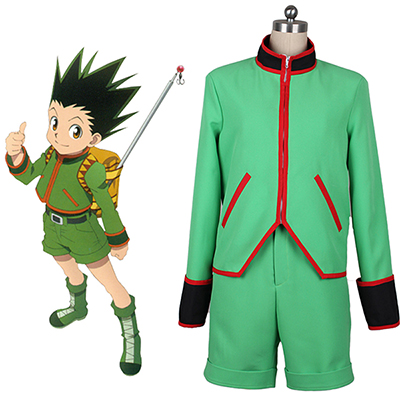 Hunter x Hunter Gon Freecss Cosplay Kostym Karneval