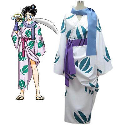 Inuyasha Jakotsu Kimono Cosplay Kostyme Karneval