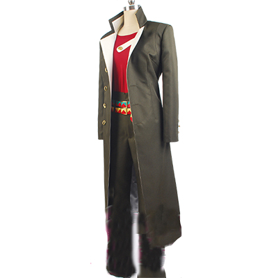 JoJo's Bizarre Adventure Stardust Crusaders Kujo Jotaro Men Coat Shirt Pant Anime cosplay costume