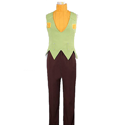 Anime JoJo's Bizarre Adventure Hermes Costello Cosplay Costume
