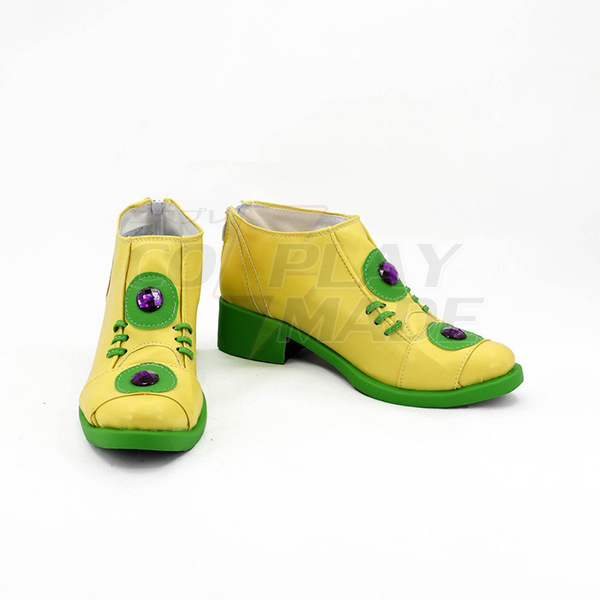 JoJo\'s Bizarre Adventure 4 Rohan Kishibe Boots Cosplay Shoes Boots Custom Made