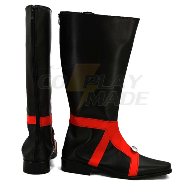 JoJo\'s Bizarre Adventure 5 GUIDO MISTA Cosplay Shoes Black Boots Custom Made