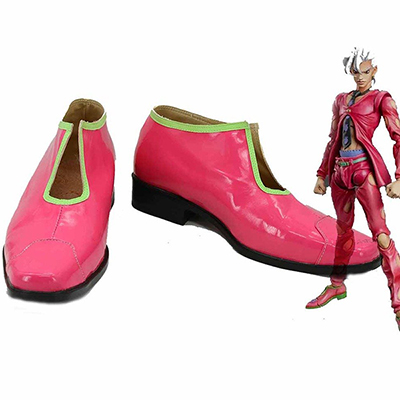 JoJo's Bizarre Adventure 5 Pannacotta Fugo Cosplay Shoes Red Boots Custom Made