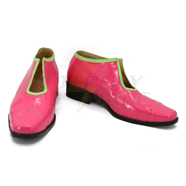 JoJo\'s Bizarre Adventure 5 Pannacotta Fugo Cosplay Shoes Red Boots Custom Made