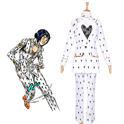 Jojo's Bizarre Adventure Bruno Buccellati Cosplay Costume Tailor Made