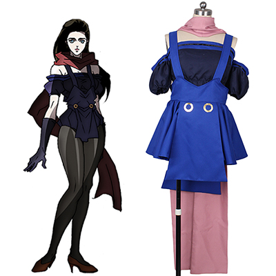 JoJo's Bizarre Adventure Lisa Cosplay Costume Halloween