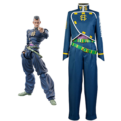 JoJo's Bizarre Adventure Okuyasu Nijimura Cosplay Costume Tailor Made