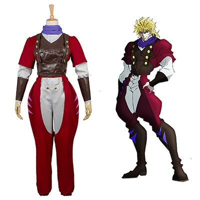 JoJo's Bizarre Adventure PB Dio Brando Phantom Blood Eyes of Heaven Cosplay Kostym