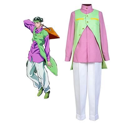 JoJo's Bizarre Adventure Rohan Kishibe Cosplay Kostym Karneval
