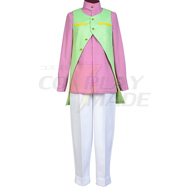 Costumi JoJo\'s Bizarre Adventure Rohan Kishibe Cosplay Carnevale