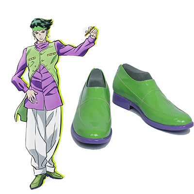 JoJo's Bizarre Adventure Rohan Kishibe Cosplay Shoes Boots Custom Made