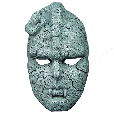 Jojo's Bizarre Adventure Stone Máscara Replica Resin Halloween