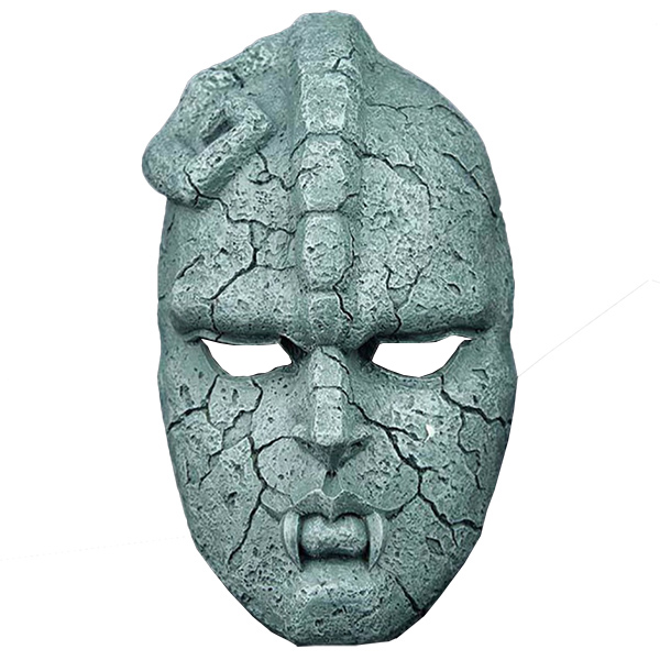 Jojo\'s Bizarre Adventure Stone Máscara Replica Resin Halloween