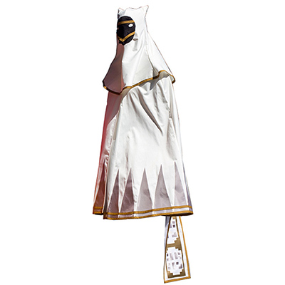 Video Game Journey White Robe Cosplay Kostyme Halloween