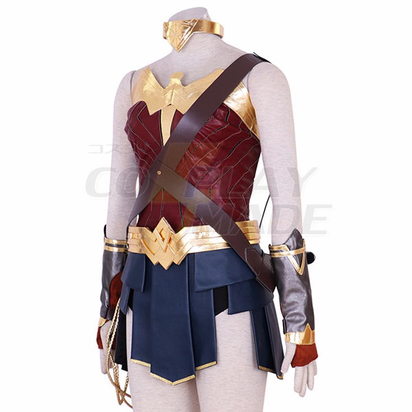 Justice League Wonder Woman Princess Diana Dress Cosplay Costume