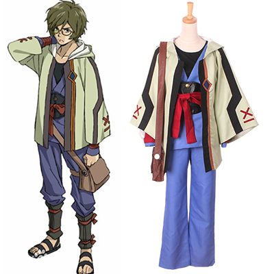 Kabaneri of the Iron Fortress Ikoma Cosplay Costumes Halloween