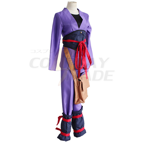 Kabaneri of the Iron Fortress Ikoma Cosplay Costumes with Bag
