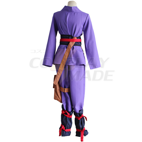 Disfraces Kabaneri of the Iron Fortress Ikoma Cosplay with Bag