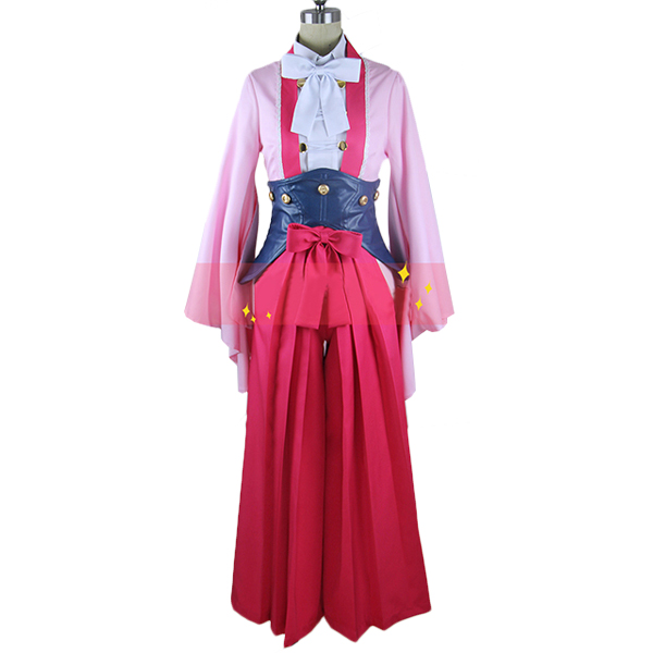 Kabaneri of The Iron Fortress Kotetsujo No Kabaneri Ayame Cosplay Costume Stage Performence Clothes