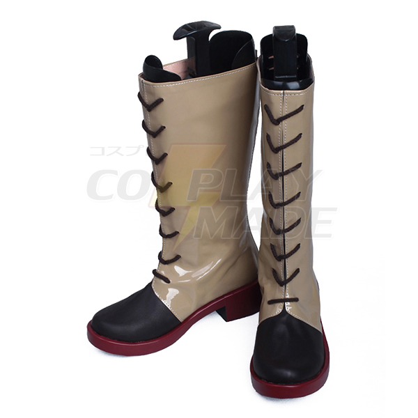 Kabaneri of the Iron Fortress Kotetsujo no Kabaneri Ayame Cosplay Shoes Boots Professional Handmade
