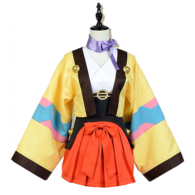 Kabaneri of The Iron Fortress Kotetsujo No Kabaneri Mumei Cosplay Costume