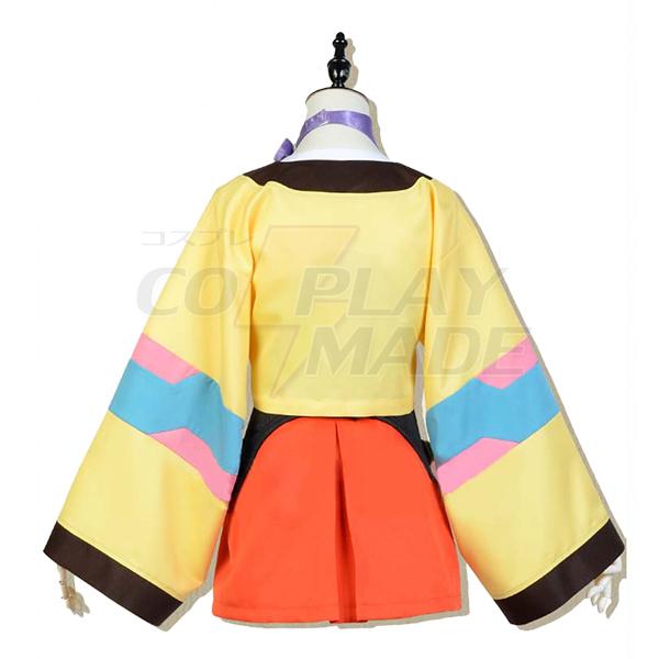Kabaneri of The Iron Fortress Kotetsujo No Kabaneri Mumei Cosplay Costume