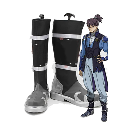 Kabaneri of the Iron Fortress Kurusu Cosplay Schoenen Laarzen Professioneel Handgemaakt