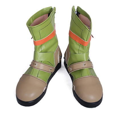 Zapatos Kabaneri of The Iron Fortress Yukina Cosplay Botas Originales