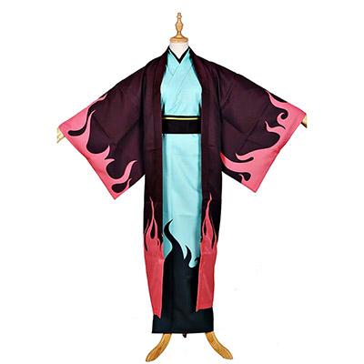 Anime Kamisama Kiss Nanami Momozono Party Cosplay Kostuum Kendo Kimono Cadeaus Blauw Blet