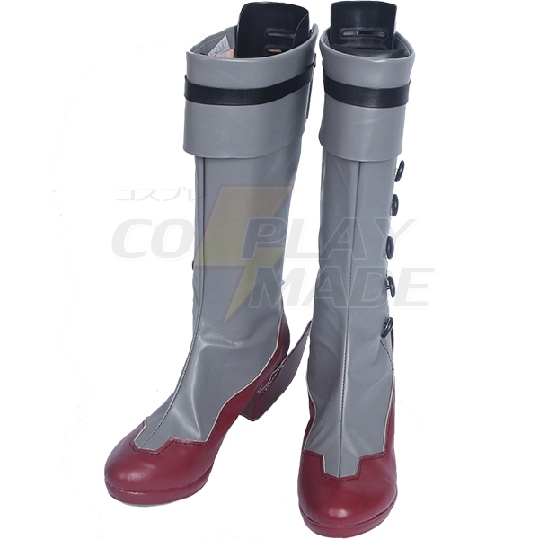 Zapatos Kantai Collection Akizuki Cosplay Botas Carnaval