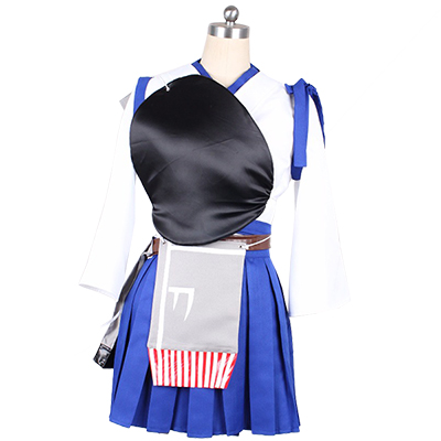 Kantai Collection Kancolle Kaga Cosplay Kostym Halloween