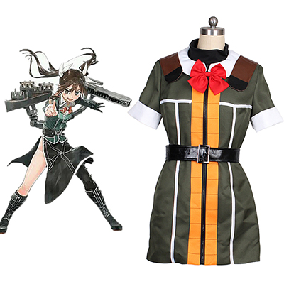 Kantai Collection Kancolle Tone Cosplay Kostyme Halloween