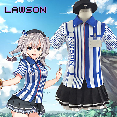 Costume Kantai Collection Lawson Tenues Cosplay Déguisements Halloween