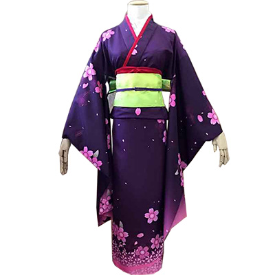 kantai Collection Shigure Kimono Outfit Cosplay Costumes