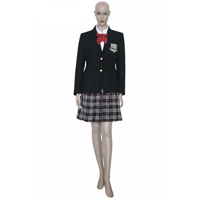 Newest High Quality Kill Bill Gogo Yubari Uniform Cosplay Kostuum