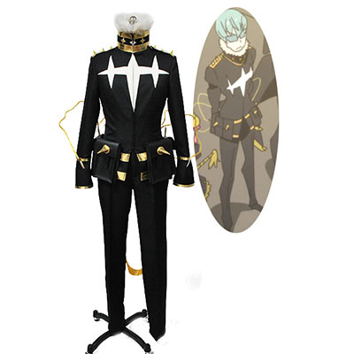 Disfraces Kill la Kill Houka Inumuta Final Shape Uniforme Traje Chaqueta Capa Pants Anime Cosplay