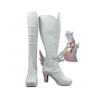 Kill la Kill Nonon Jakuzure Cosplay Chaussures Bottes Carnaval