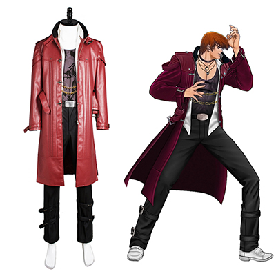 King of Fighters XIV KOF 14 Lori Utrusta Cosplay Kostym