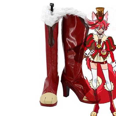 KiraKira Pretty Cure A La Mode Cure Chocolat Kenjou Akira Cosplay Sko Støvler Anime Kvinner Sko Karneval