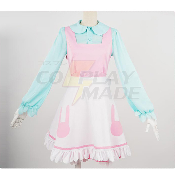 Costumi Miss Kobayashi\'s Dragon Maid Kanna Halloween