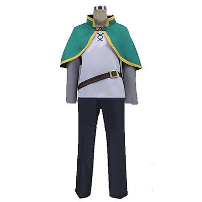 Costumi Kono Subarashii Sekai ni Shukufuku o! KonoSuba Kazuma Satou Cos thief Cloth Cosplay
