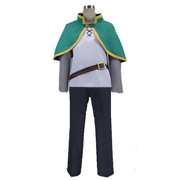 Kono Subarashii Sekai ni Shukufuku o! KonoSuba Kazuma Satou cos thief cloth Cosplay Costume