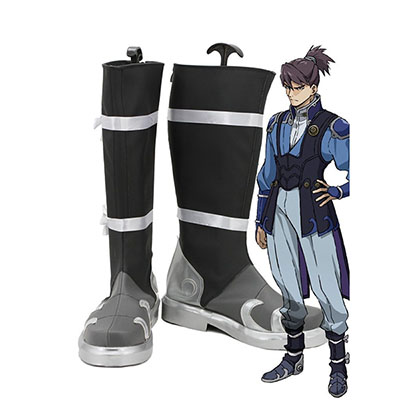 Kabaneri of the Iron Fortress Kurusu Cosplay Schuhe Stiefel Mass angefertigt